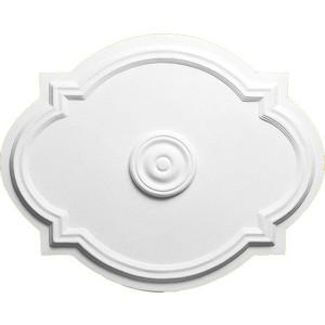 Розетка потолочная Decomaster DECOMASTER-1 цвет белый 550х440 мм (DR 1)