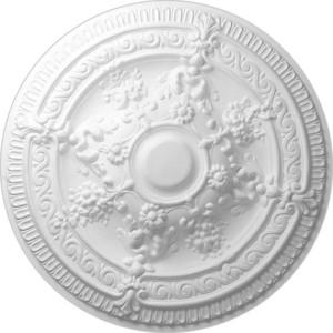 Розетка потолочная Decomaster DECOMASTER-1 цвет белый 660 мм (DR 11)