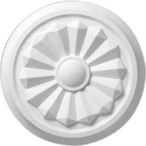 Розетка потолочная Decomaster DECOMASTER-1 цвет белый 200 мм (DR 3)