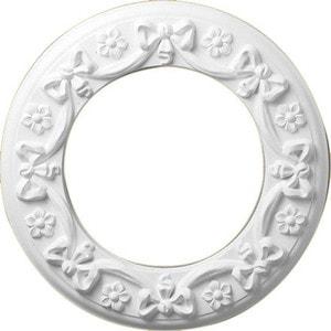 Розетка потолочная Decomaster DECOMASTER-1 цвет белый 310 мм (DR 51)
