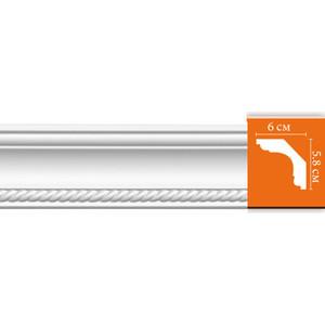 Профиль гибкий Decomaster DECOMASTER-2 цвет белый 60х58х2400 мм (DT 128 fl)