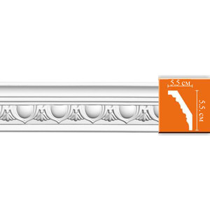 Профиль Decomaster DECOMASTER-1 цвет белый 55х55х2400 мм (DT 13)