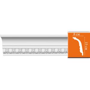 Профиль Decomaster DECOMASTER-1 цвет белый 150х80х2400 мм (DT 168)