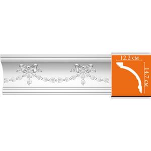 Профиль Decomaster DECOMASTER-1 цвет белый 122х147х2400 мм (DT 218)