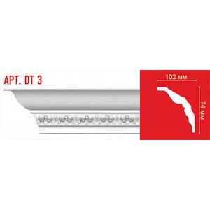 Профиль Decomaster DECOMASTER-1 цвет белый 102х74х2400 мм (DT 3)