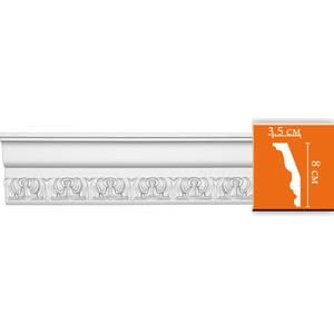 Профиль гибкий Decomaster DECOMASTER-2 цвет белый 35х80х2400 мм (DT 33 fl)