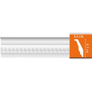 Профиль гибкий Decomaster DECOMASTER-2 цвет белый 42х83х2400 мм (DT 36 fl)