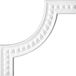 Угол Decomaster DECOMASTER-1 цвет белый 193х193х10 мм (DT 9080-2)