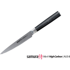 Фотография товара нож для томатов 12 см Samura Mo-V (SM-0071/16) (553931)