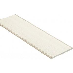Панель Decomaster Ясень белый цвет 15 100х6х2400 мм (F10-15)