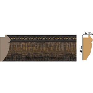 Багет Decomaster Эклектика цвет 1 47х18х2850 мм (FM12-1 )