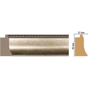 Багет Decomaster Эклектика цвет 1 45х27х2850 мм (FM18-1 )
