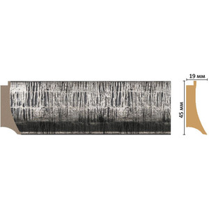 Багет Decomaster Эклектика цвет 3 45х19х2850 мм (FM5-3 )