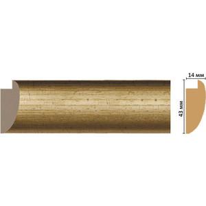 Багет Decomaster Эклектика цвет 1 43х14х2850 мм (FM6-1 )
