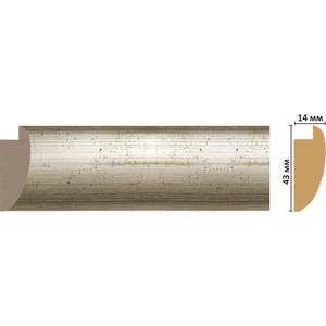 Багет Decomaster Эклектика цвет 2 43х14х2850 мм (FM6-2 )