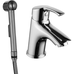 Смеситель для раковины Lemark Plus Strike с гигиеническим душем (LM1116C)  цена и фото