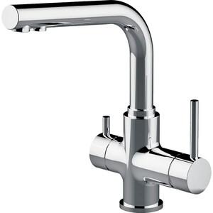 Смеситель для кухни Lemark с подключением к фильтру с питьевой водой (LM3061C) смеситель для кухни с подключением к фильтру с питьевой водой rossinka для кухни z35 33
