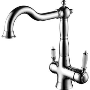 Смеситель для кухни Lemark с подключением к фильтру с питьевой водой (LM3065C) смеситель для кухни с подключением к фильтру с питьевой водой rossinka для кухни z35 33