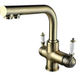 Смеситель для кухни Lemark для кухни с подключением к фильтру с питьевой водой (LM4861B) товары для кухни