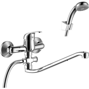 Смеситель для ванны Rossinka для ванны с S- образным изливом (Y35-35) смеситель для ванны rossinka излив 138 мм с аксессуарами y35 31