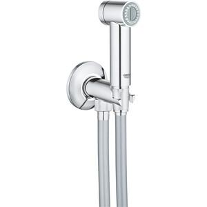 Гигиенический набор Grohe Sena лейка, шланг, подключение для шланга, вентиль (26332000) цены онлайн