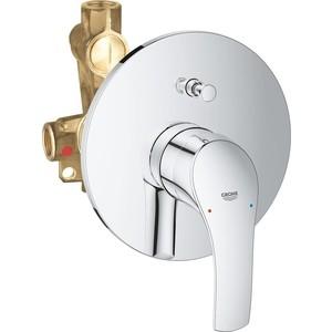 Смеситель для ванны Grohe Eurosmart New встраиваемый (33305002) смеситель для душа grohe eurosmart new встраиваемый со встроенным механизмом хром
