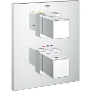 Термостат для ванны Grohe Grohtherm Cube декоративная часть, для механизма 35500000 (19958000) внутренняя часть вентиля grohe grohtherm f на 3 выхода для 27625000 35031000