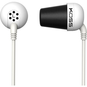Наушники Koss The Plug white koss bt539iw white