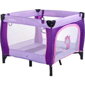 Манеж Caretero Quadra purple (TERO-3992) caretero sonata purple