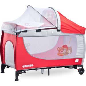 Манеж-кровать Caretero Grande red красный (TERO-353)