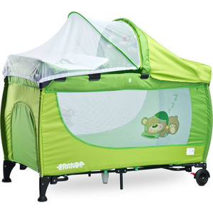 Манеж-кровать Caretero Grande green зеленый (TERO-351) коляска трость caretero alfa green зеленый tero 572