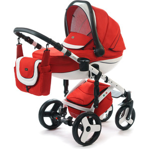 Коляска 3 в 1 Vikalex Tasso red (Vi75593) коляска 2 в 1 chicco trio stylego red passion