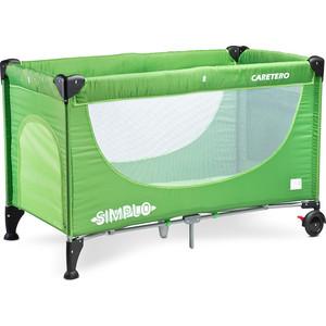 Манеж-кровать Caretero Simplo green зеленый (TERO-390) коляска трость caretero alfa green зеленый tero 572