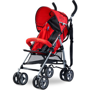 Коляска трость Caretero Alfa red красный (TERO-571) caretero sonata purple
