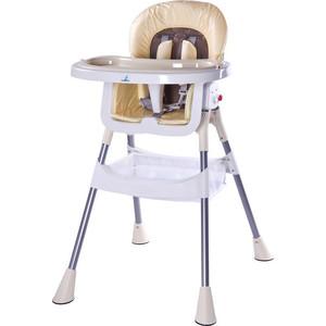 Стульчик для кормления Caretero Pop cappuccino светло-бежевый (TERO-7263) стульчик для кормления cam smarty pop цвет c26 333