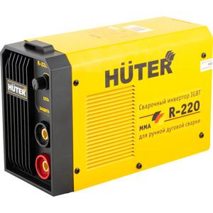 Сварочный инвертор Huter R-220 сварочный аппарат huter r 220 инверторный
