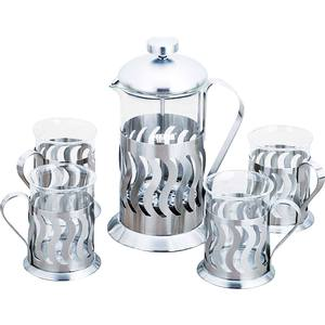 Чайный набор из 5 предметов Bekker De Luxe (BK-367) коляска модульная vikalex ferrone 2 в 1 leather white vi72301