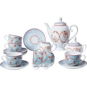 Чайный сервиз из 15 предметов Bekker (BK-7143) сервиз чайный bekker bk 7146 15 предметов 6 персон