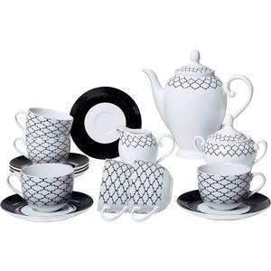 Чайный сервиз из 15 предметов Bekker (BK-7145) сервиз чайный bekker bk 7146 15 предметов 6 персон