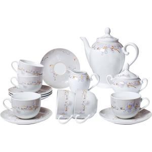 Чайный сервиз из 15 предметов Bekker (BK-7146) сервиз чайный bekker bk 7146 15 предметов 6 персон