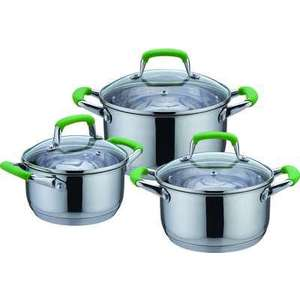 Набор посуды из 6 предметов Bekker De Luxe (BK-1738) набор посуды bekker bk 3618