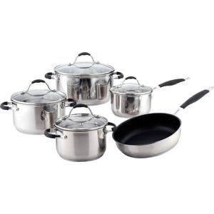 Набор посуды из 9 предметов Bekker Premium (BK-2704)