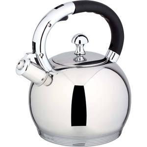 Чайник со свистком 2.7 л Bekker De Luxe (BK-S520) bekker чайник заварочный пресс фильтр bekker de luxe bk 389 0 6 л ni4uhc1