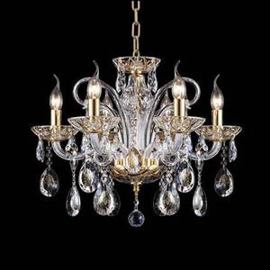 Подвесная люстра Crystal Lux Ice New SP6 new arrival led modern k9 crystal chandelier crystal pendant lamp 100