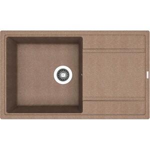 Мойка кухонная Florentina Липси-860 860х510 коричневый FG (20.130.D0860.105) цена и фото