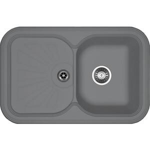 Мойка кухонная Florentina Крит-780 780х510 грей FSm (20.170.D0780.305) кухонная мойка florentina касси 780 780х510 антрацит fsm
