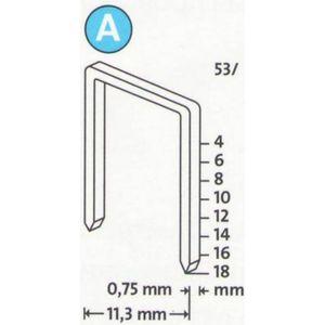 Скобы для степлера Novus 14мм тип 53 5000шт (042-0520) скобы novus 4 28 2000шт 042 0724
