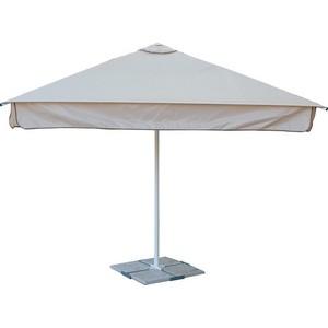 Зонт Митек 3.0х3.0 м (стальной каркас с подставкой)