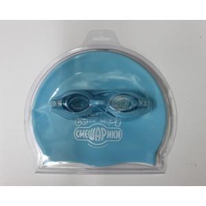 Набор для плавания Смешарики 3-KC (очки. шапочка)
