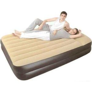 Кровать Relax high raised air bed queen JL027229NG 203x161x51 (со встроенным электрическим насосом) bow